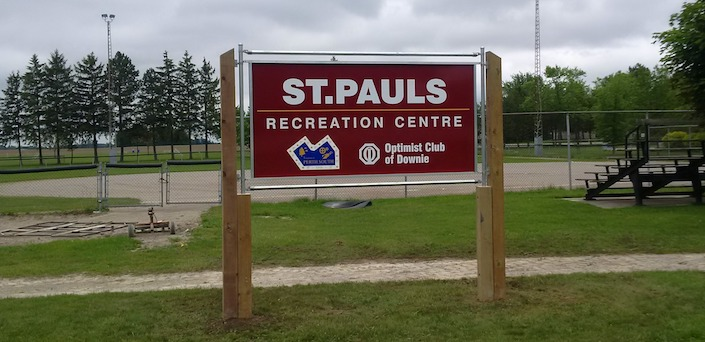 View of St. Pauls Recreation Centre