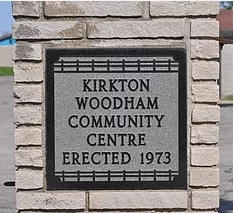 Picture of the Kirkton Woodham Community Centre Sign