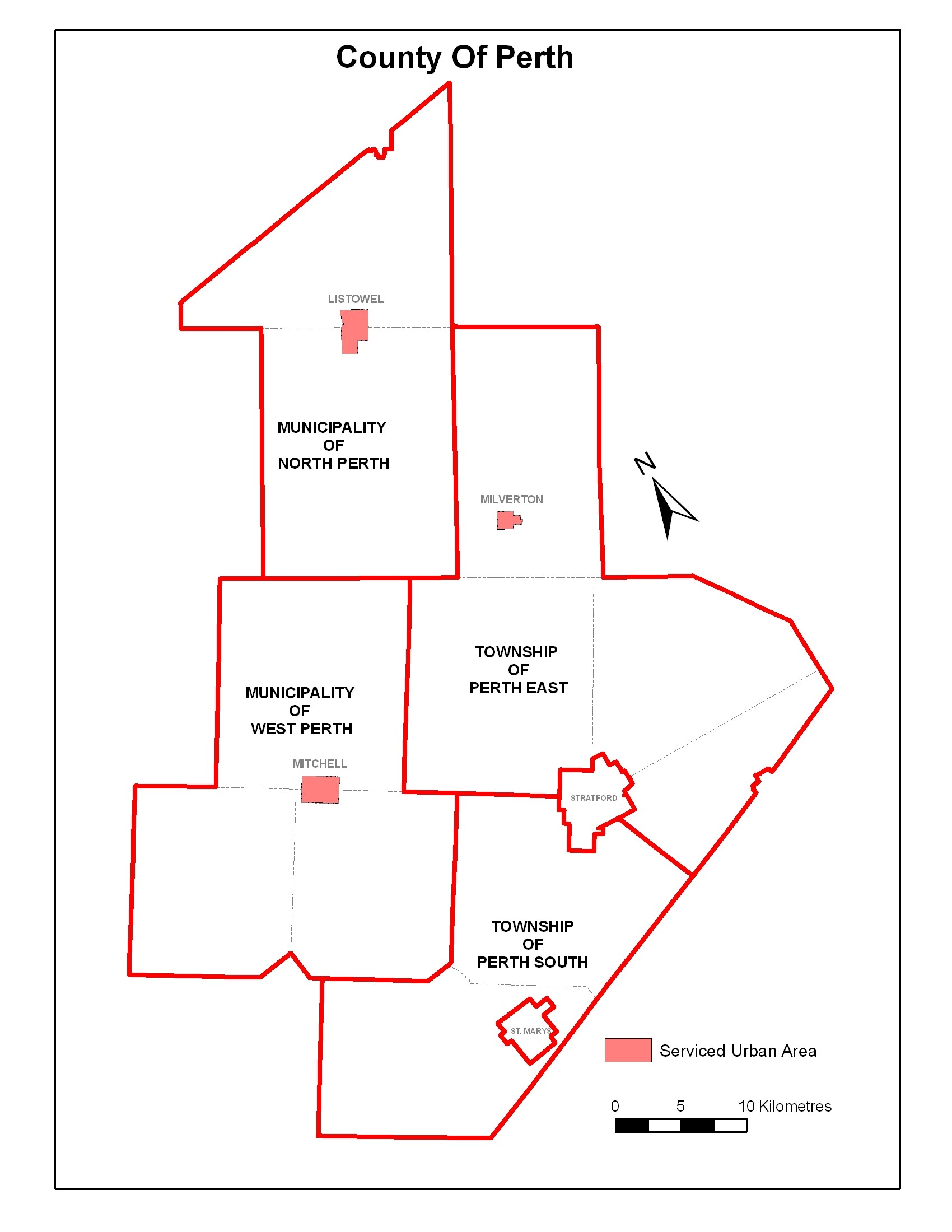 Image of Map of Perth County
